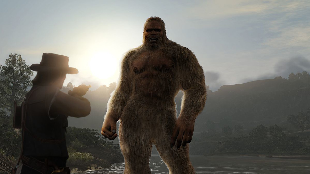rdr2 bigfoot