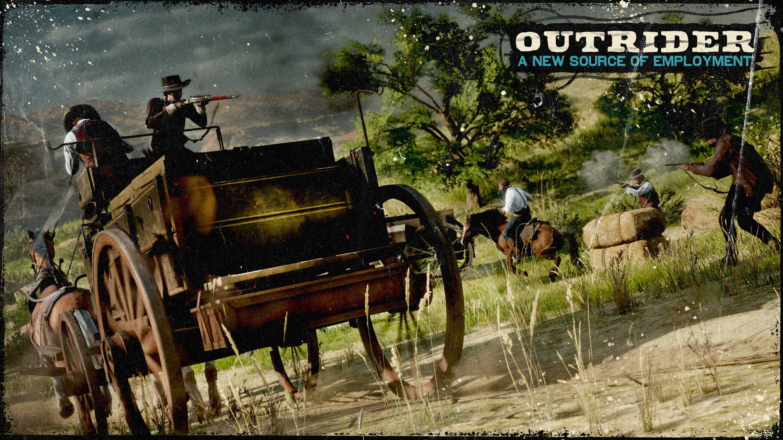 Red Dead Online outrider